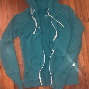 American Eagle zip front hoodie with pockets